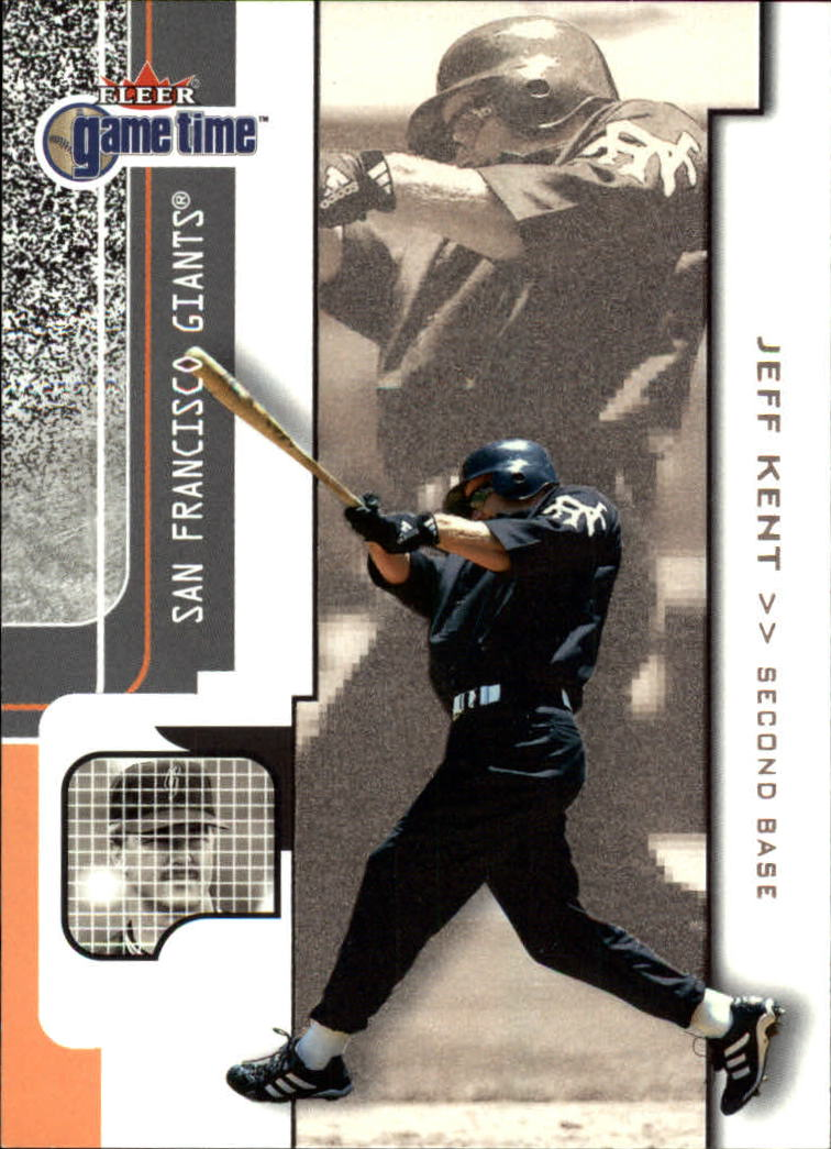 2001 Fleer Game Time #20 Jeff Kent