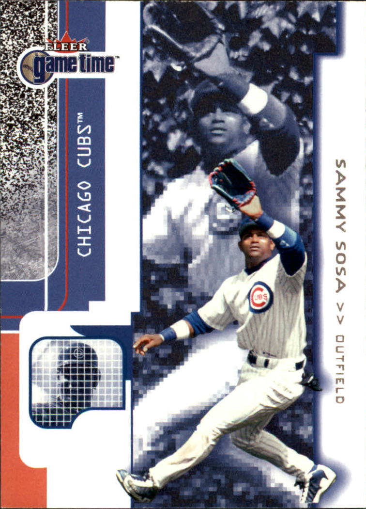 2001 Fleer Game Time #25 Sammy Sosa