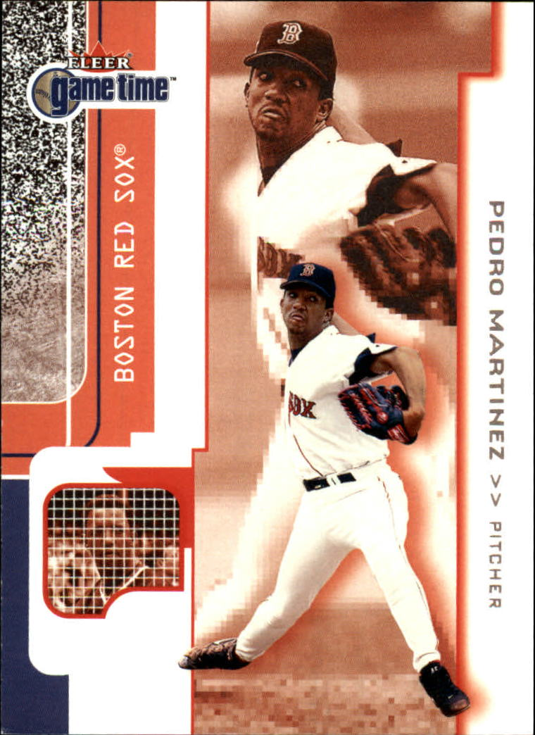 2001 Fleer Game Time #29 Pedro Martinez