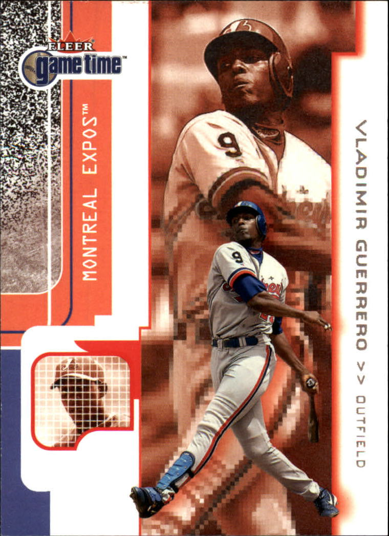 2001 Fleer Game Time #33 Vladimir Guerrero