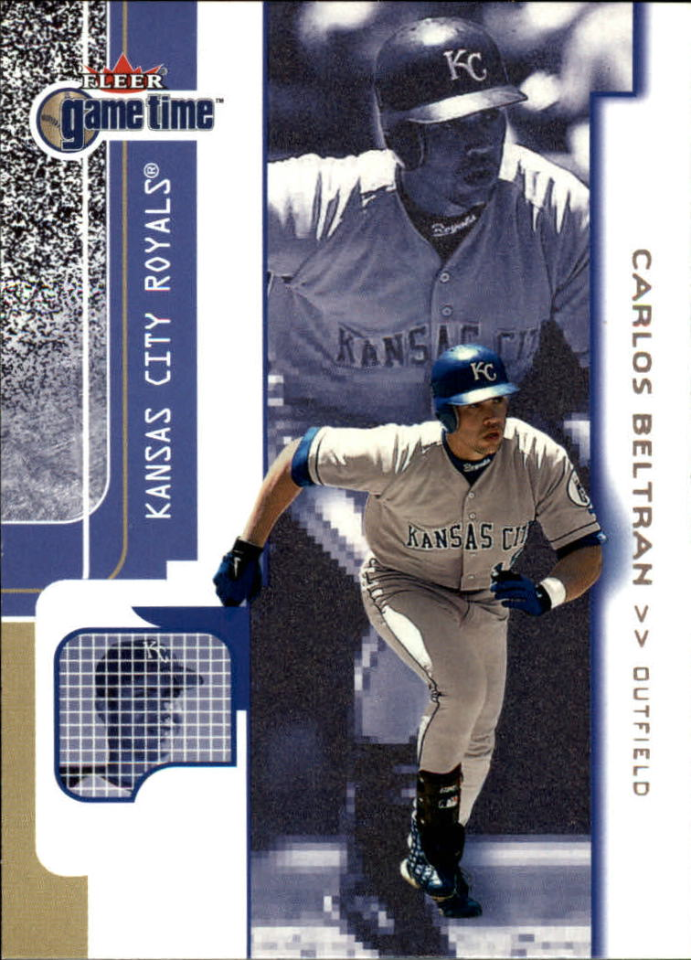 2001 Fleer Game Time #36 Carlos Beltran