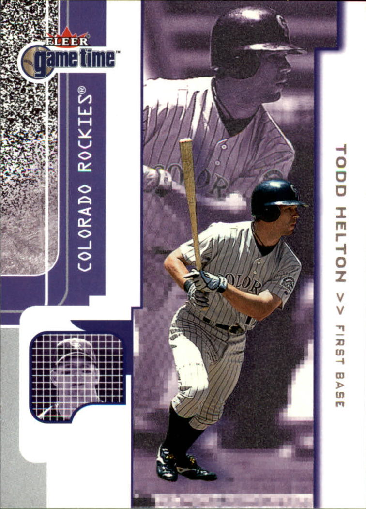 2001 Fleer Game Time #39 Todd Helton