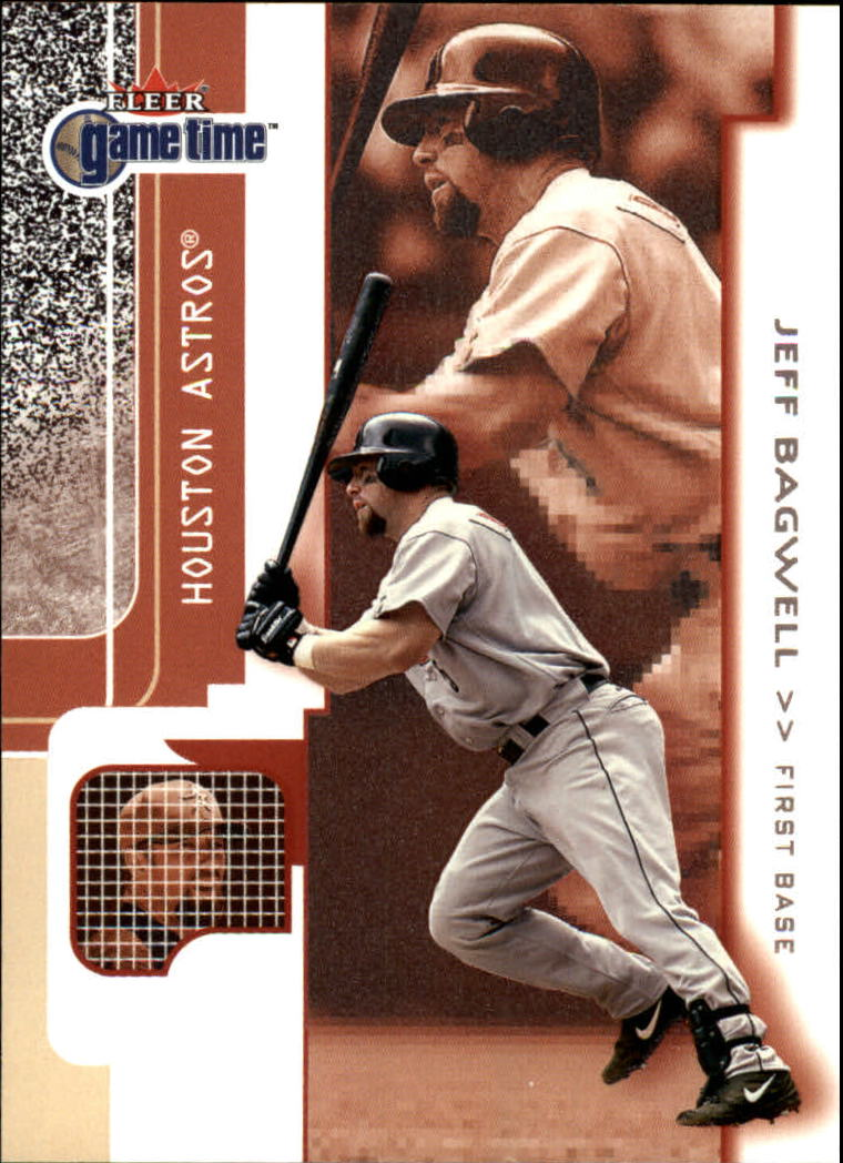 2001 Fleer Game Time #58 Jeff Bagwell