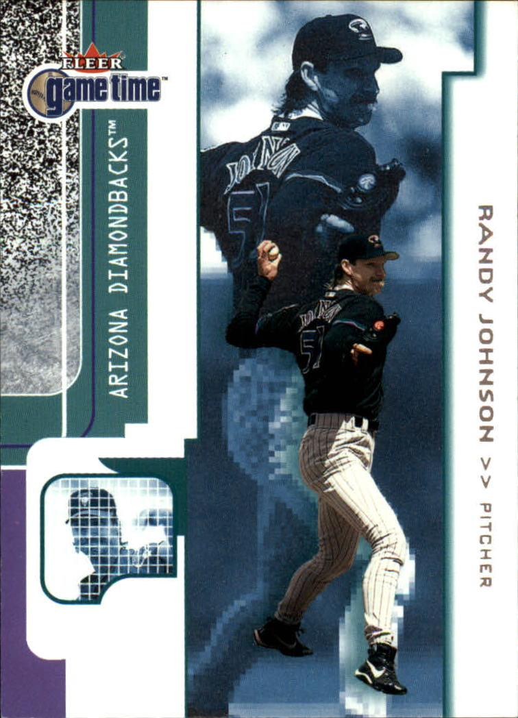 2001 Fleer Game Time #62 Randy Johnson