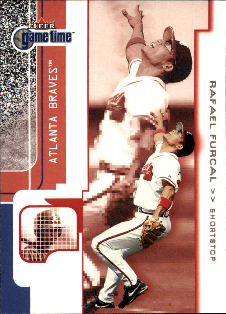 2001 Fleer Game Time #75 Rafael Furcal