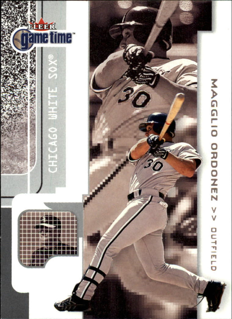 2001 Fleer Game Time #88 Magglio Ordonez