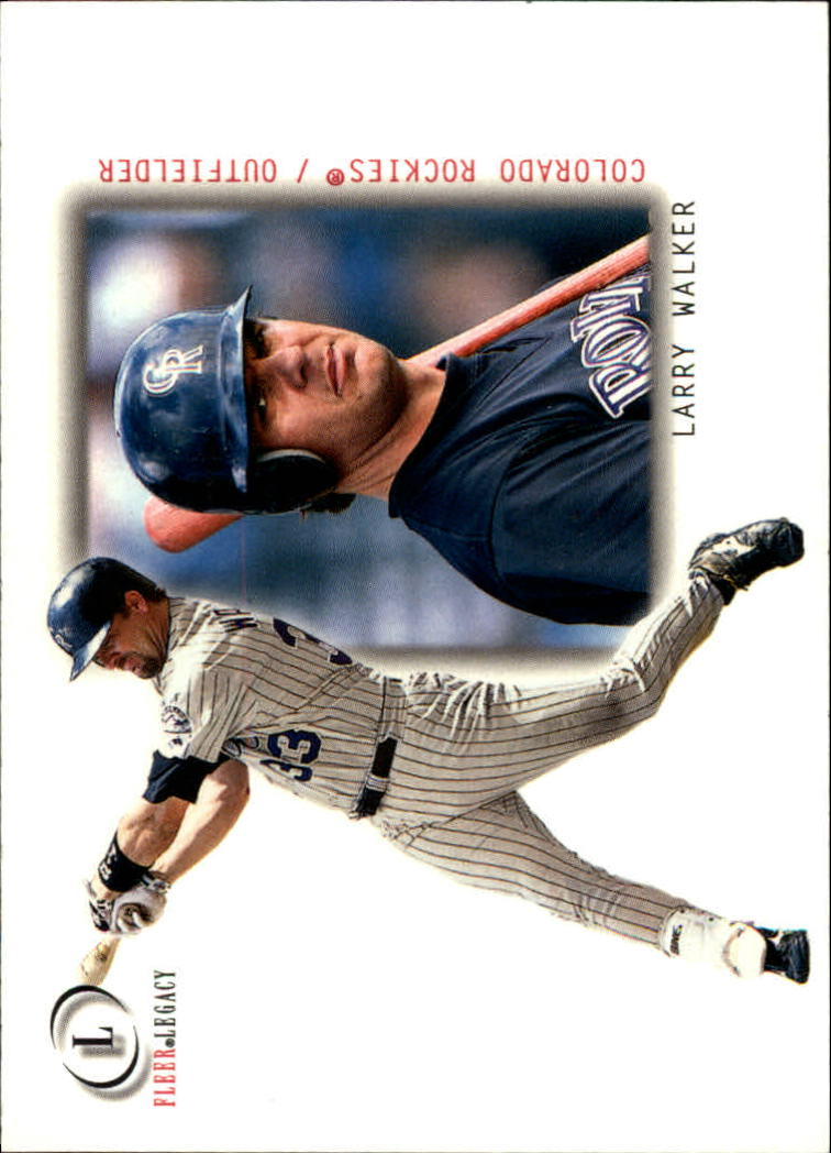 2001 Fleer Legacy #20 Larry Walker
