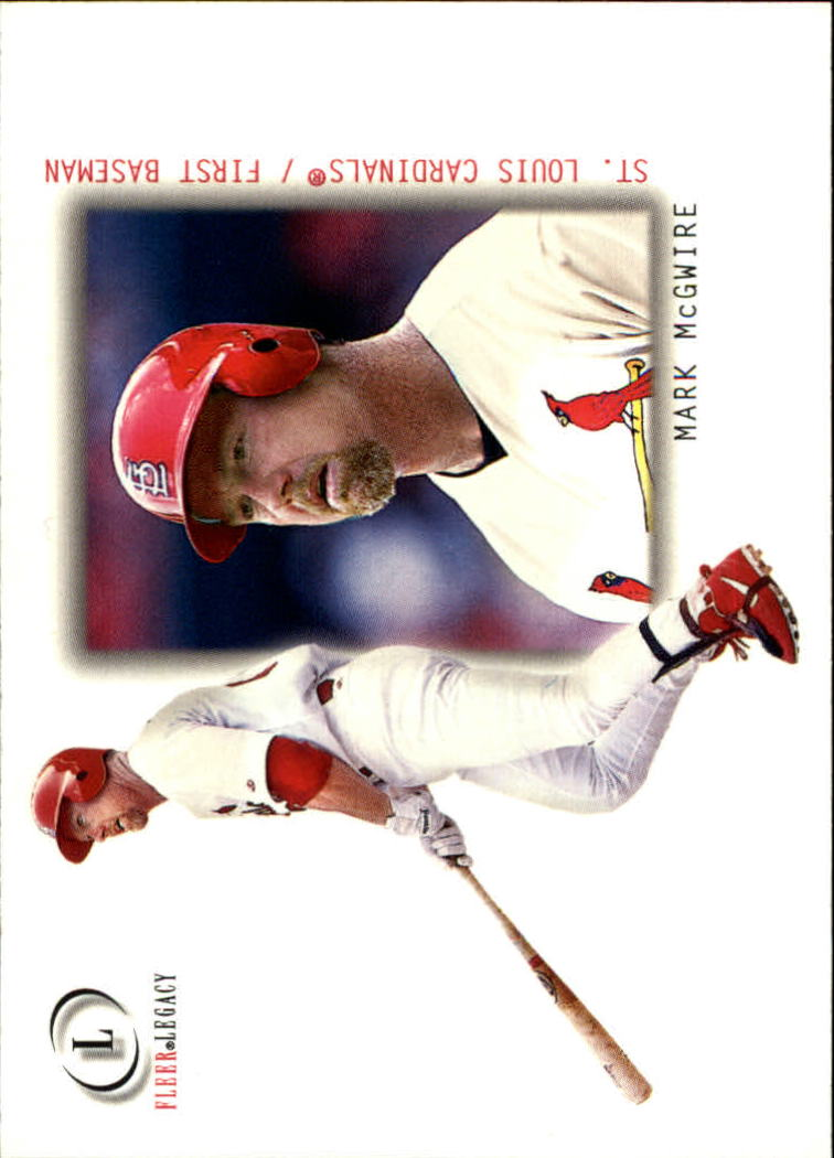 2001 Fleer Legacy #34 Mark McGwire