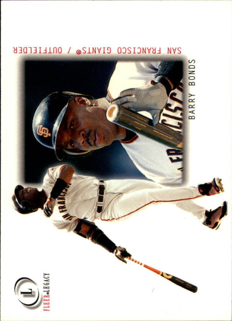 2001 Fleer Legacy #51 Barry Bonds