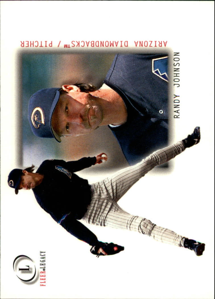 2001 Fleer Legacy #58 Randy Johnson