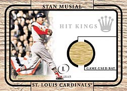 2001 Fleer Legacy Hit Kings #21 Stan Musial