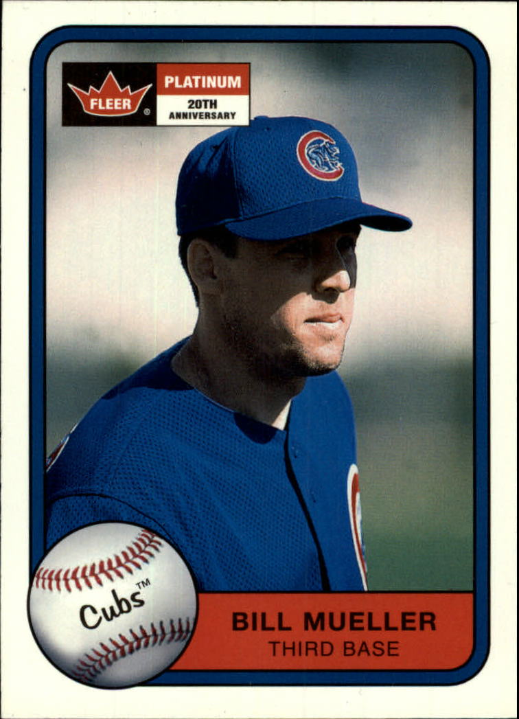 2001 Fleer Platinum #3 Bill Mueller