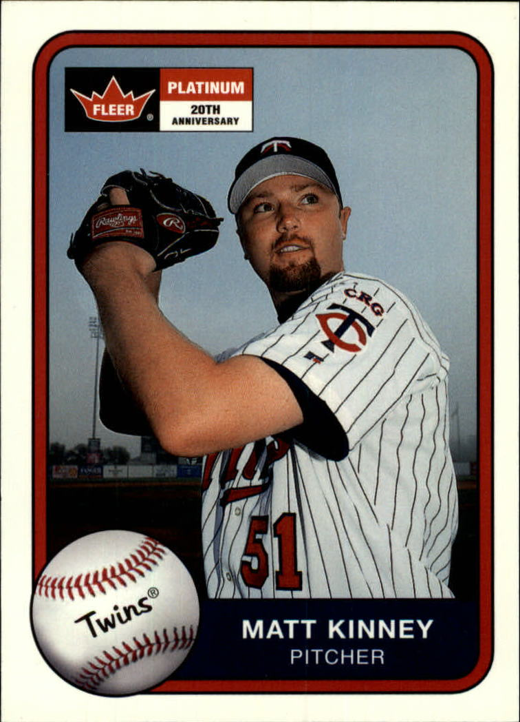 2001 Fleer Platinum #17 Matt Kinney