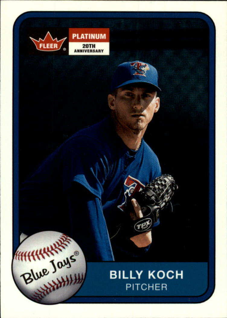 2001 Fleer Platinum #27 Billy Koch