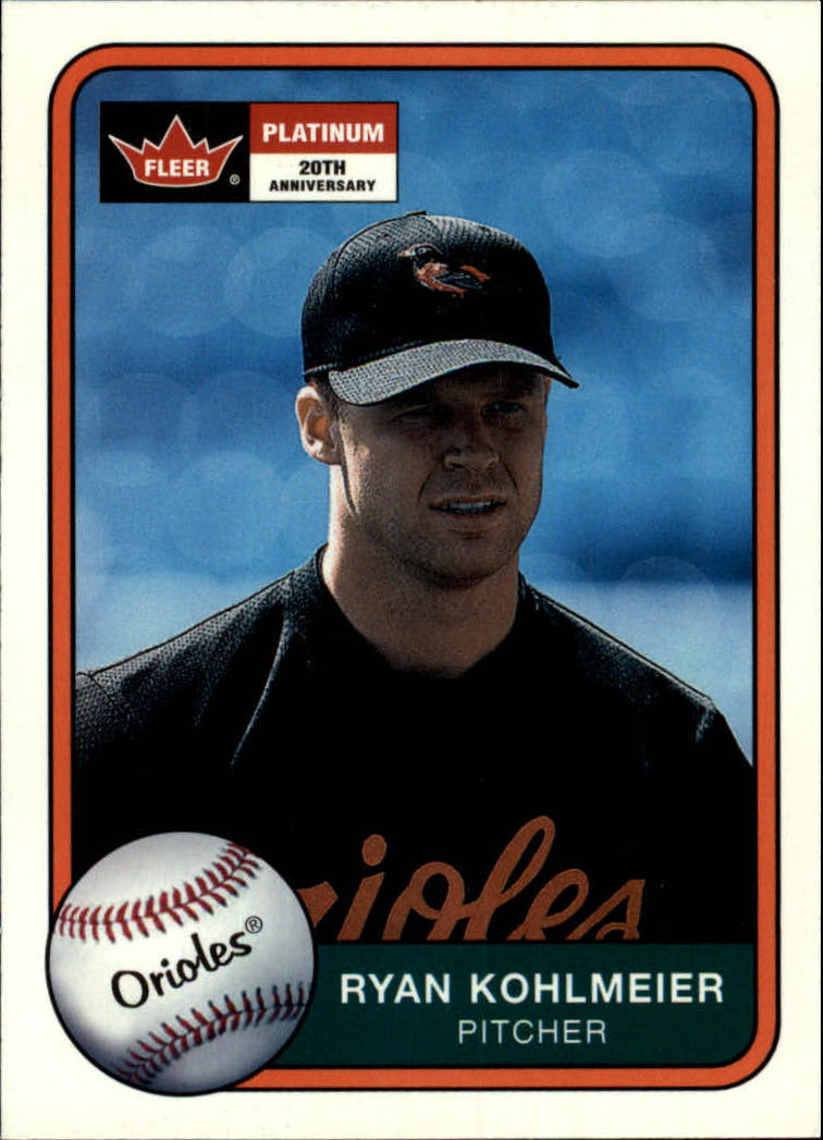 2001 Fleer Platinum #31 Ryan Kohlmeier