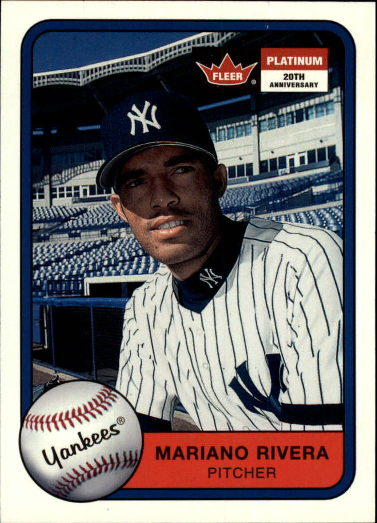 2001 Fleer Platinum #38 Mariano Rivera