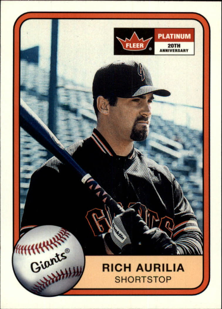 2001 Fleer Platinum #49 Rich Aurilia