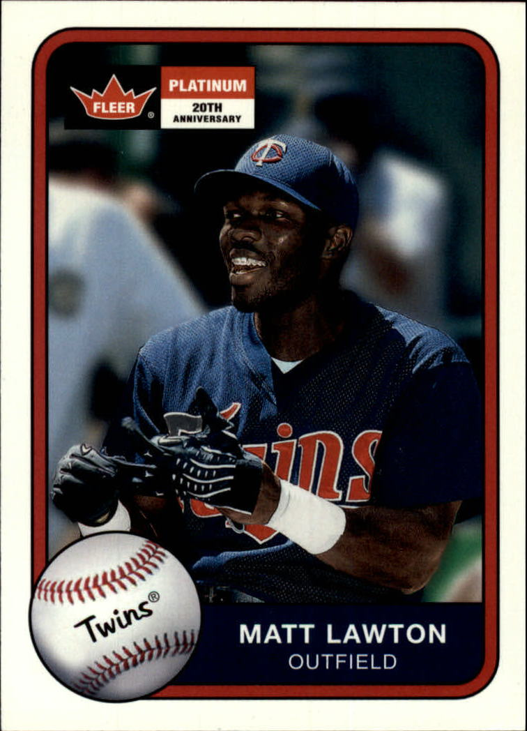 2001 Fleer Platinum #55 Matt Lawton