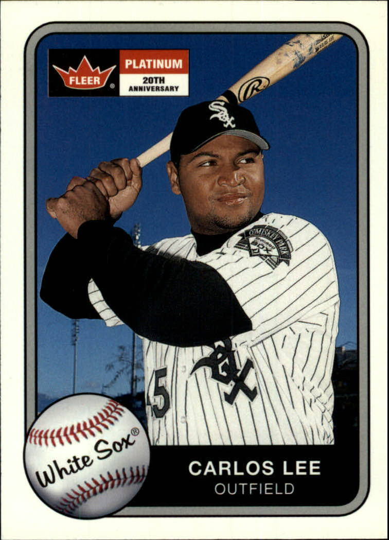 2001 Fleer Platinum #59 Carlos Lee