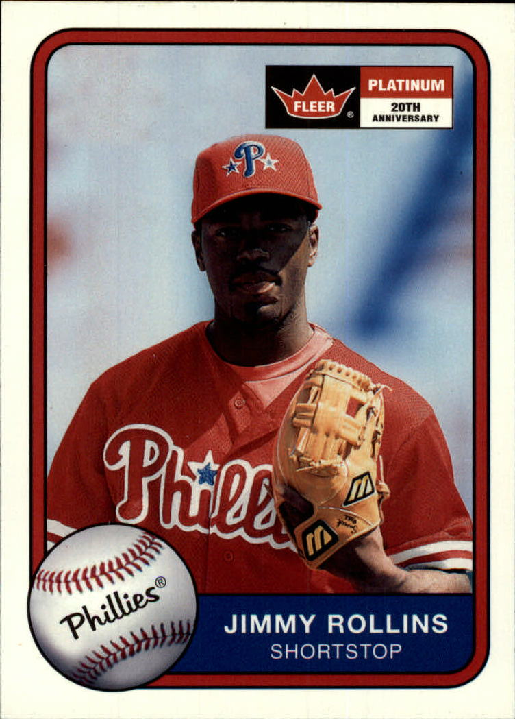 2001 Fleer Platinum #62 Jimmy Rollins