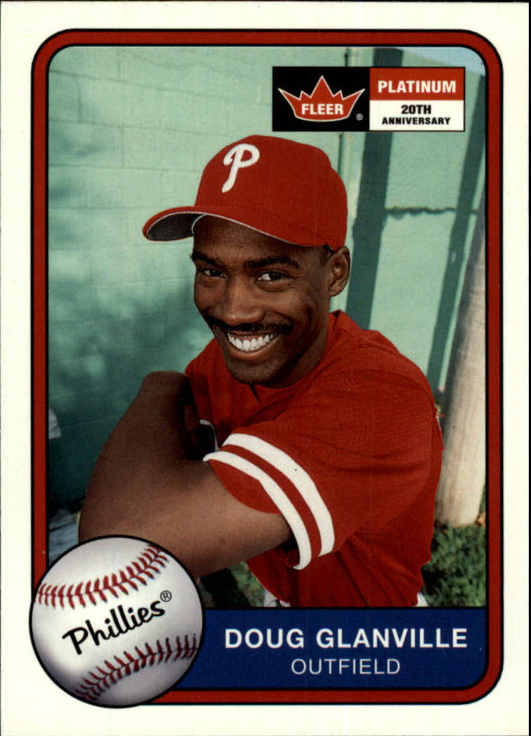 2001 Fleer Platinum #84 Doug Glanville