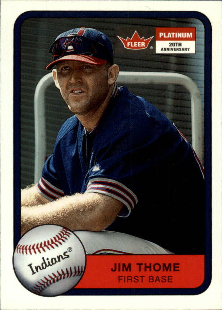 2001 Fleer Platinum #150 Jim Thome
