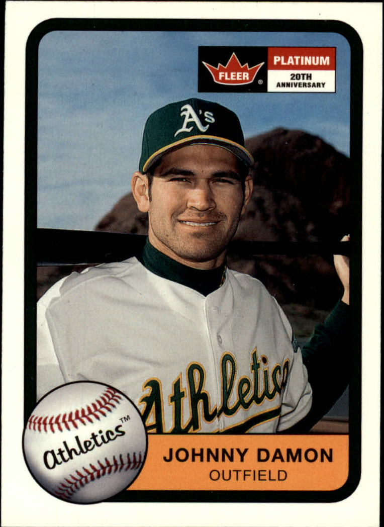 2001 Fleer Platinum #229 Johnny Damon