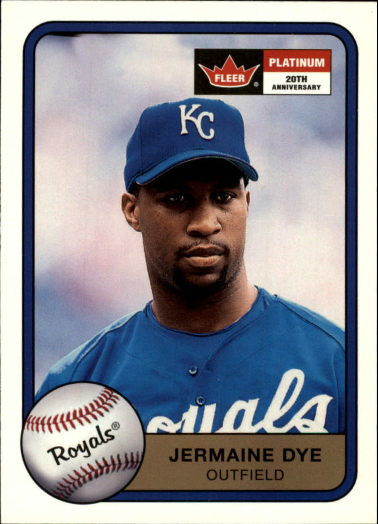 2001 Fleer Platinum #249 Jermaine Dye
