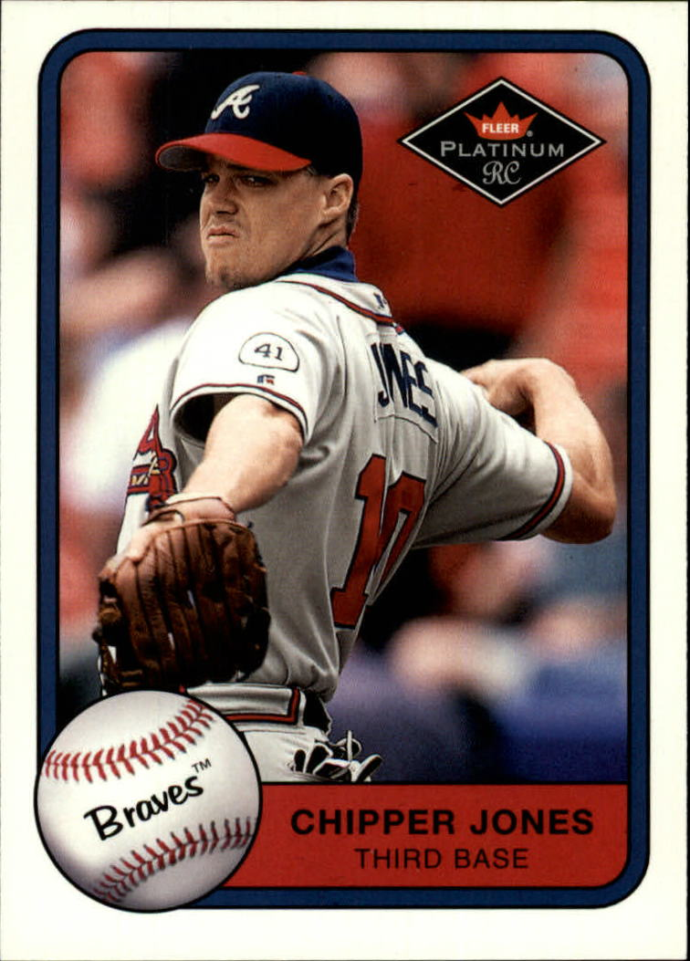2001 Fleer Platinum #338 Chipper Jones