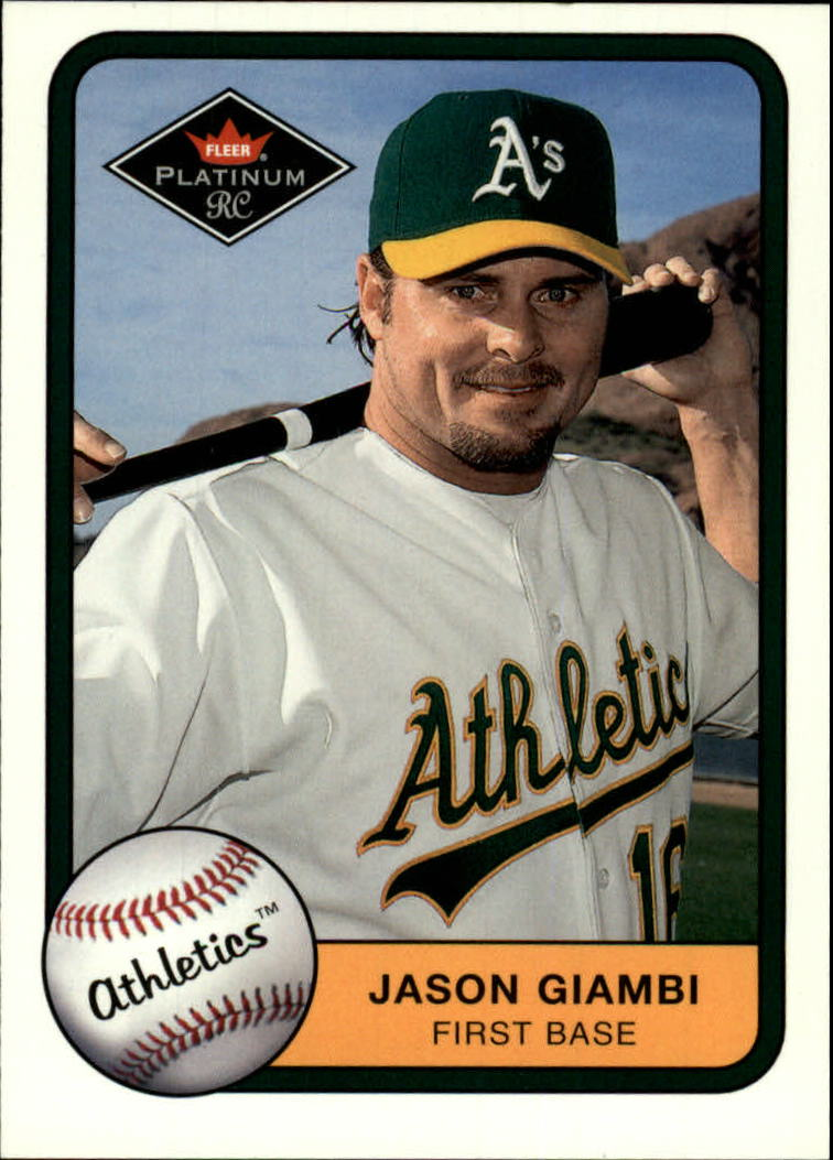 2001 Fleer Platinum #340 Jason Giambi
