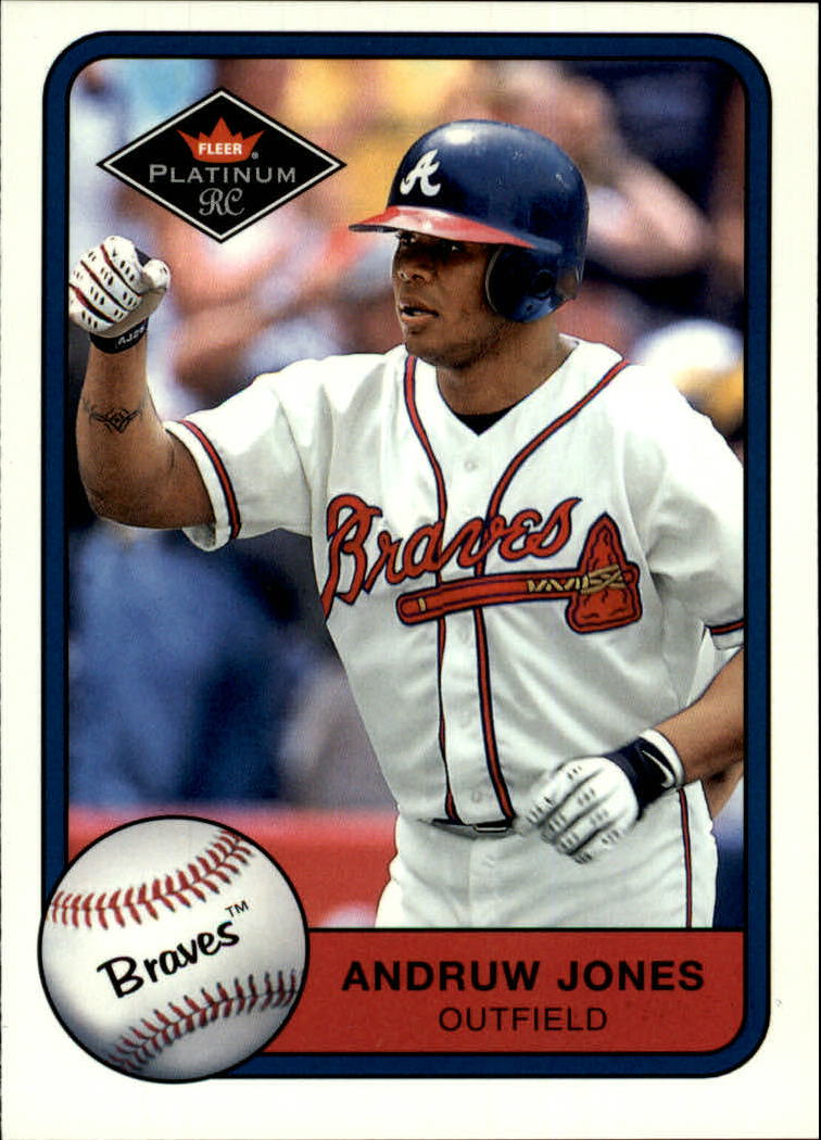 2001 Fleer Platinum #342 Andruw Jones