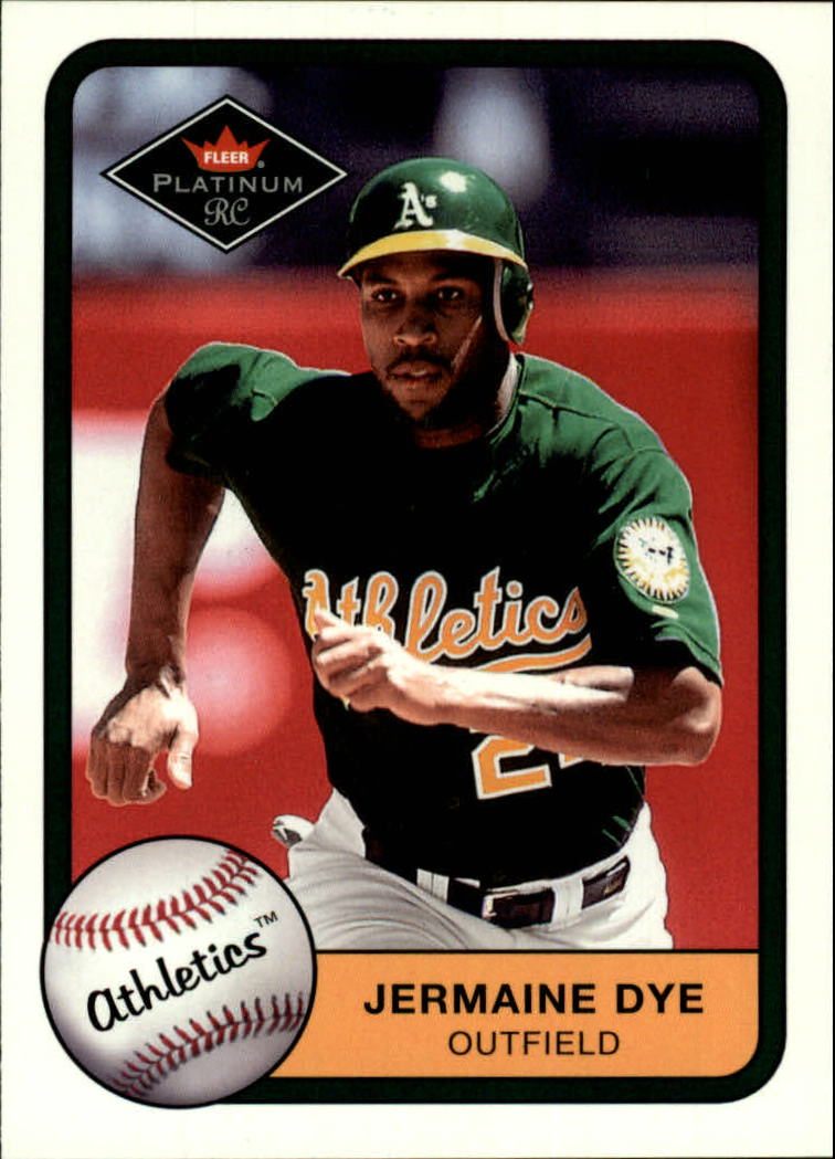 2001 Fleer Platinum #344 Jermaine Dye