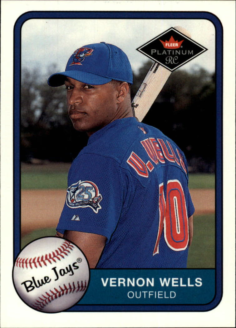 2001 Fleer Platinum #357 Vernon Wells