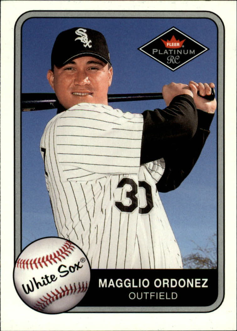 2001 Fleer Platinum #382 Magglio Ordonez