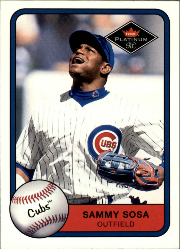2001 Fleer Platinum #389 Sammy Sosa