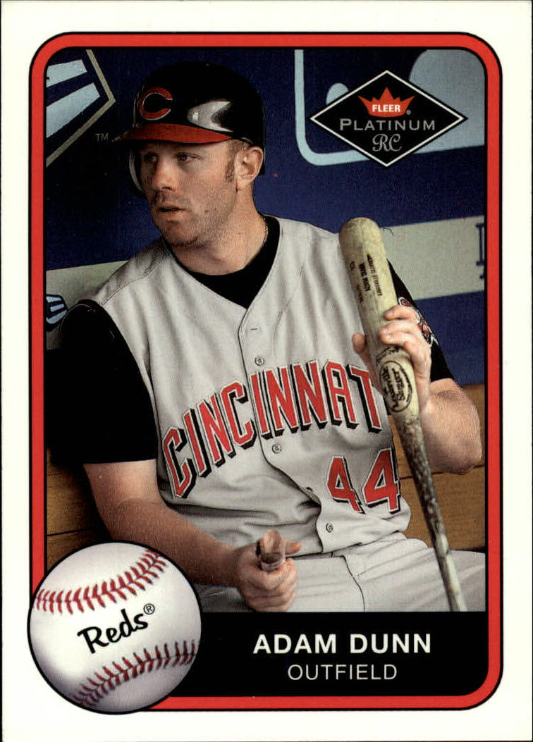 2001 Fleer Platinum #398 Adam Dunn
