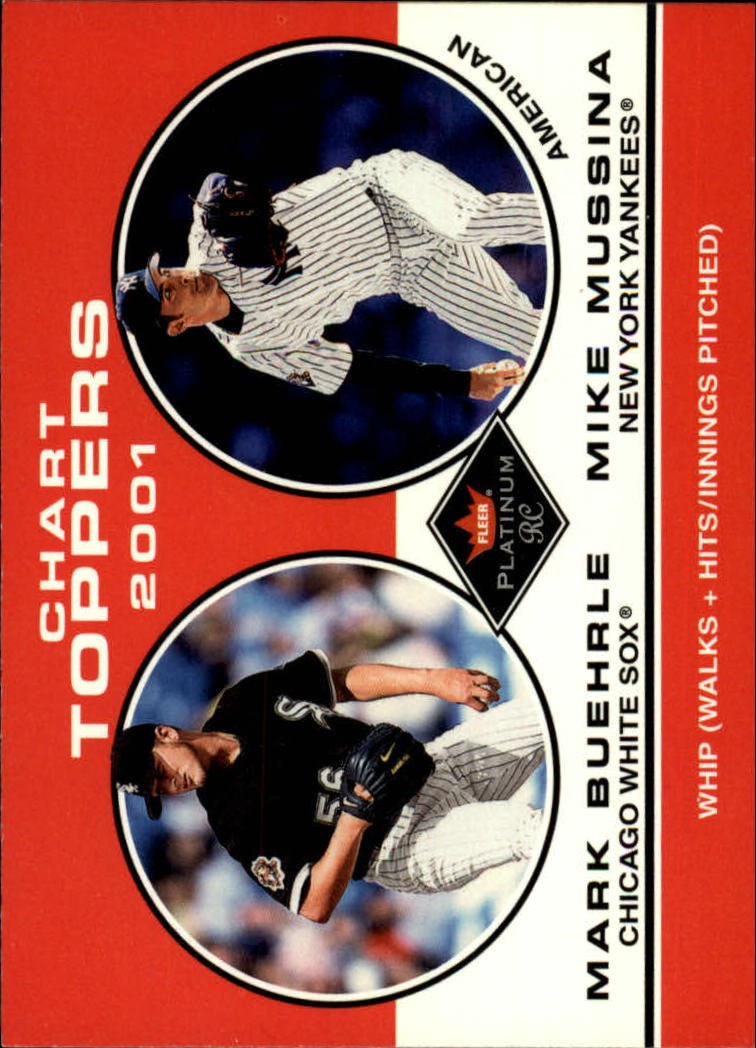 2001 Fleer Platinum #407 M.Buerhle/M.Mussina CT