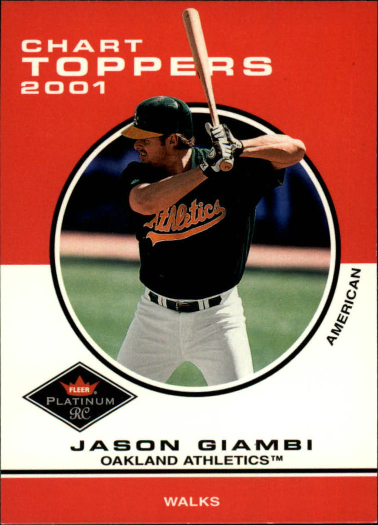 2001 Fleer Platinum #415 Jason Giambi CT