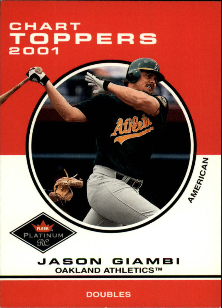 2001 Fleer Platinum #422 Jason Giambi CT