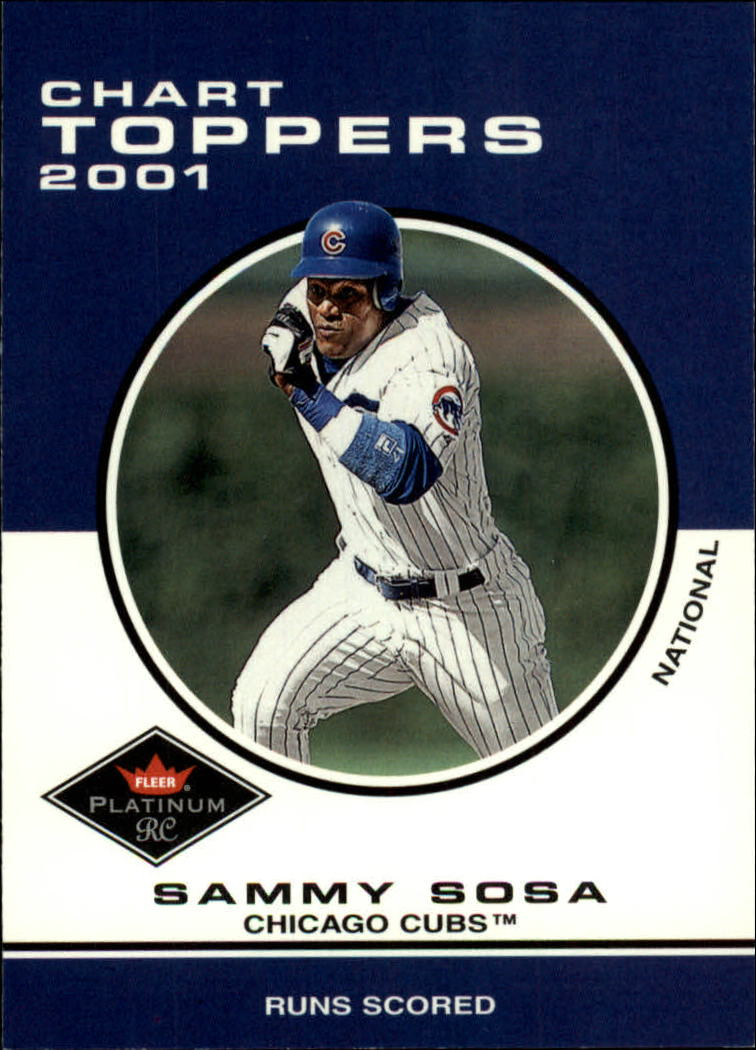 2001 Fleer Platinum #429 Sammy Sosa CT