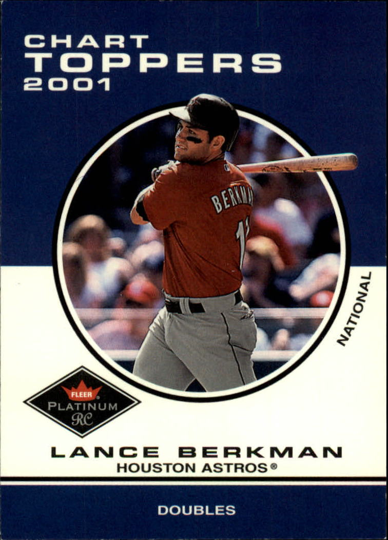 2001 Fleer Platinum #430 Lance Berkman CT