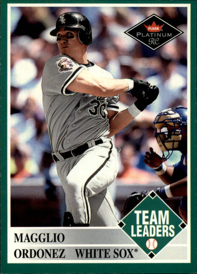 2001 Fleer Platinum #455 Magglio Ordonez TL