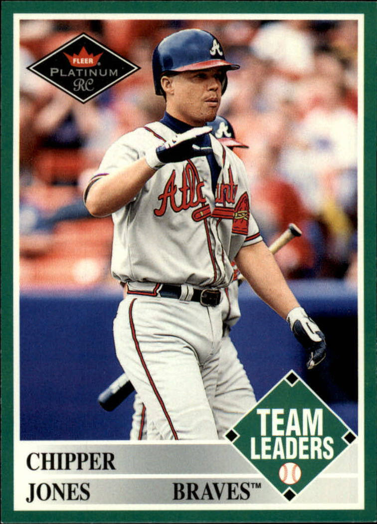 2001 Fleer Platinum #459 Chipper Jones TL