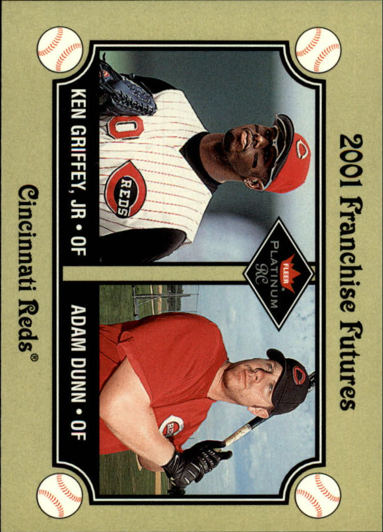 2001 Fleer Platinum #469 K.Griffey Jr./A.Dunn FF