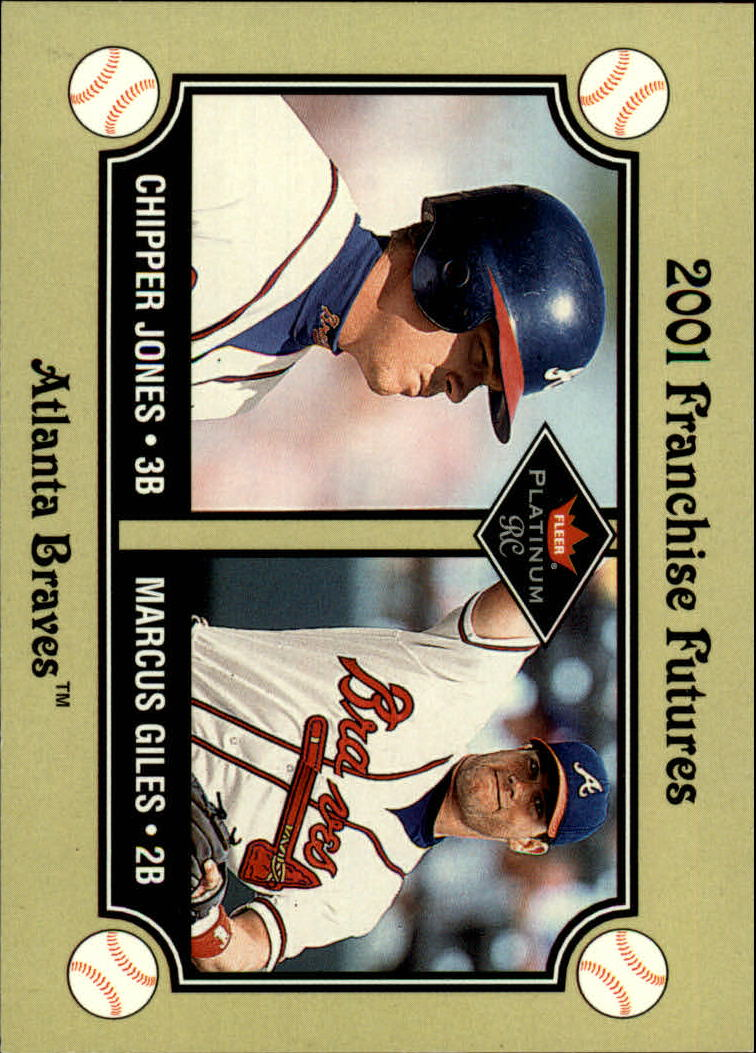 2001 Fleer Platinum #477 C.Jones/M.Giles FF