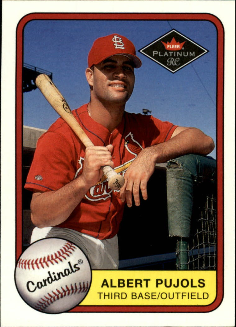 2001 Fleer Platinum #521 Albert Pujols