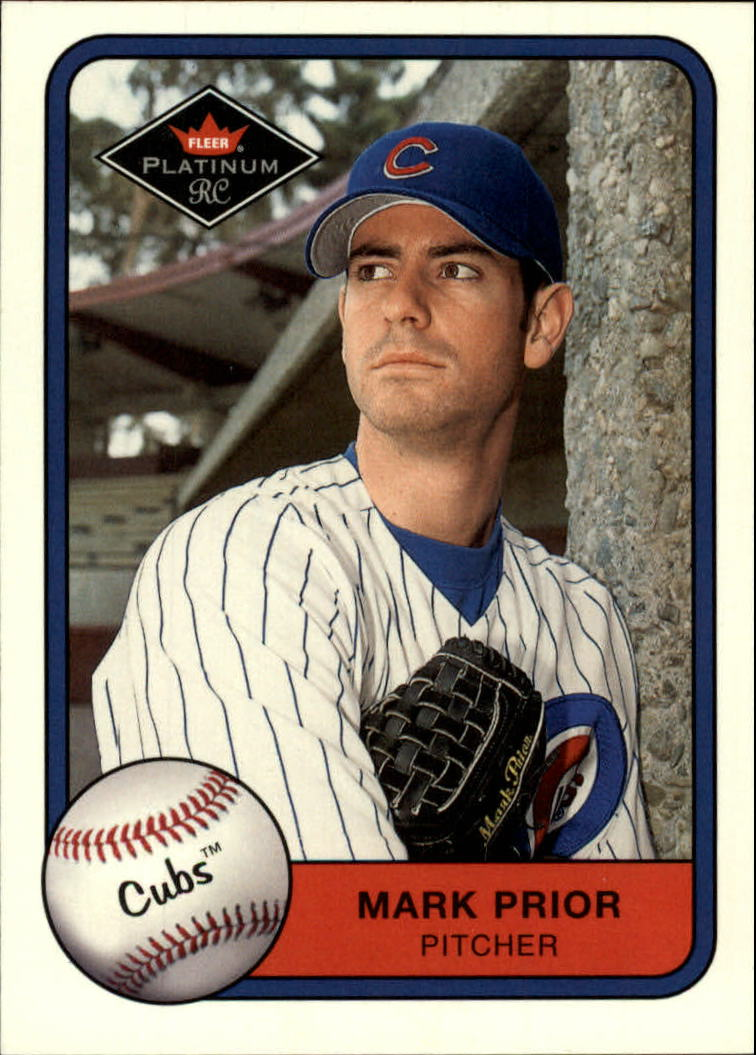 2001 Fleer Platinum #529 Mark Prior DP RC