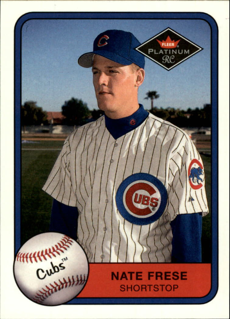 2001 Fleer Platinum #545 Nate Frese RC