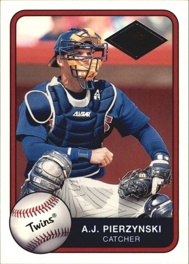 2001 Fleer Platinum Parallel #399 A.J. Pierzynski