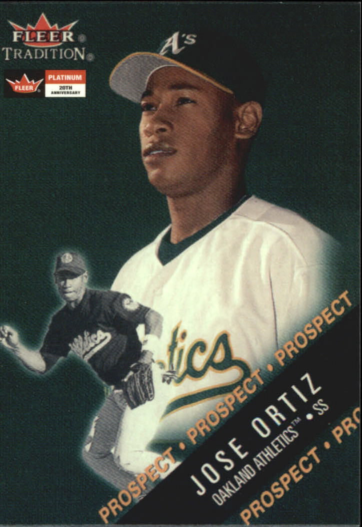 2001 Fleer Platinum 20th Anniversary Reprints #18 Jose Ortiz 00GL